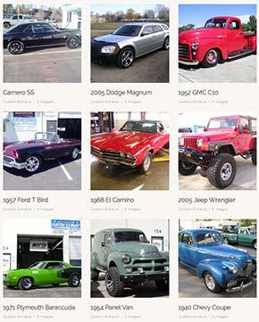 Custom Exhaust Photo Gallery